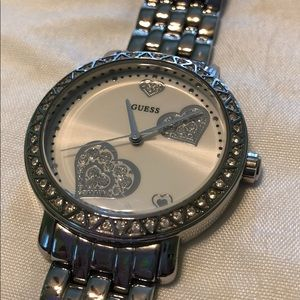 Authentic GUESS watch with original box
